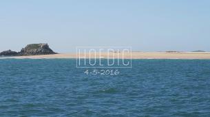 Une journée sur l'île sauvage d'Hoedic, (presque) seuls au monde.