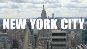 Une semaine dans la grosse pomme en vidéo, à travers Soho, Brooklyn, Williamsburg...